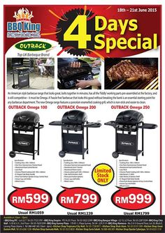 18-21 Jun 2015: BBQ King 4 Days Special Promotion