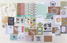 Day in the Life: March 2016 Pocket Scrapbook Kit