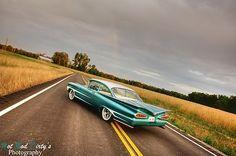 1959 Chevrolet Impala Biscayne Kustom Rod