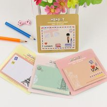 4PCS Creative Stationery Cute Series Paper Memo Pad Diary Sticker Notes School Office Supplies(China)