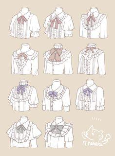 ブラウスいろいろ [1] - Victorian style shirt Reference