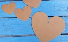 Show your love! Met de hartjes van Stempelfun! Ideaal voor je bruiloft, feestje of gewoon....omdat hartjes altijd lief zijn! #kraft #stempelfun