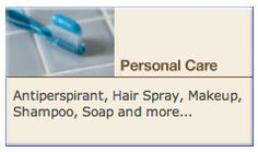 """This is ONE. AWESOME.SITE.  Complete disclosure on ALL the disruptive chemicals in our products....created by the NIH under the US Dept of Health & Human Services.  A """"must reference"""" catalog.  BE INFORMED! and make your own decisions for the sake of your good health. Personal Care: Antiperspirant, Hair Spray, Makeup, Shampoo, Soap and more..."""