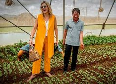 On the first day of Queen Maxima's visit to Vietnam, the Queen visited farm of Xuan Toan in Da Lat, Vietnam. The farm is supported by the Horti Dalat program that helps farmers with the growth of their business. Queen Maxima is in Vietnam for an three day visit in her capacity as United Nation's Secretary-Generals Special Advocate for Inclusive Finance for Development.