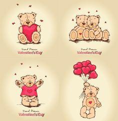XOO.me :: Sweet Teddy Bear Valentine's Graphics