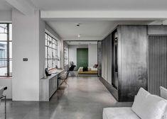 Cloisons et séparations : porte coulissante #amenagement #deco #interieur #maison #appartement