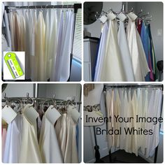 Wonder what #white is perfect for your skin tone on your magical #wedding day? Or just your best white period! Read #inventyourimage #blog post to find out how.
