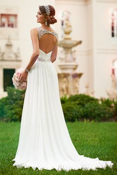 Stella York designer wedding dress.