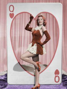 Arlene Dahl  (Colorized by Ajax 1946)