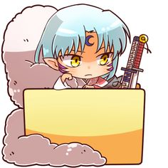 Sesshomaru Chibi by mtb