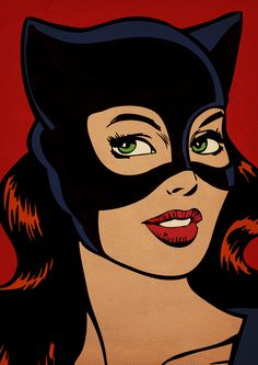 Cat Woman - Call Tutorial and Ideas Art And Illustration, Comic Art, Comic Kunst, Pop Art Drawing, Art Drawings, Fond Pop Art, Catwoman, Pop Art Vintage, Pop Art Wallpaper