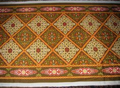 Items similar to 4 feet Colorful Traditional Egyptian Textile Polyester/Cotton Mix Fabric - BROWN CHESS - Washable - Up to 32 Feet Per Piece on Etsy Hookah Lounge Decor, Egyptian, Couture, Traditional, Love, Rugs, Unique Jewelry, Handmade Gifts, Colorful