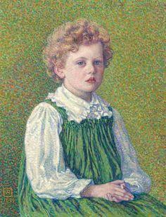 Théo (Théophile) van Rysselberghe (1862 – 1926) – Pintor Belga_20