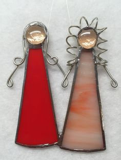 Stained Glass Ornament - Sisters/Best Friends