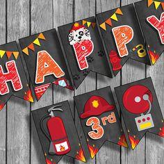 Fireman Birthday, Fireman Party, Fireman Sam, Fire Party Ideas, Bear Cakes, Third Birthday, Creative Kids, Little Pony, Firefighter