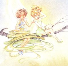 Pixie Hollow Queen Clarion   And this is how she looks in the non-Gail Carson Levine books: