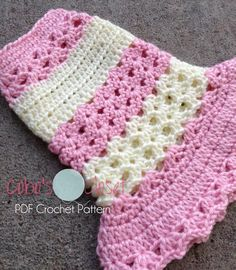 Littlest Bo Peep Crochet Dog Sweater | Craftsy