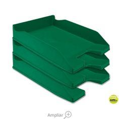 BANDEJA SOBREMESA PLASTICO Q-CONNECT VERDE OPACO Tray, Food, Dessert Tray, Trays, Green, Meals