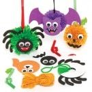 Sets voor Halloweendecoraties met pompon