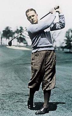 """""""El golf de alta competición se juega principalmente en un campo de cinco pulgadas y media: el espacio que hay entre tus orejas."""" - Bobby Jones, un golfista de todos los tiempos."""