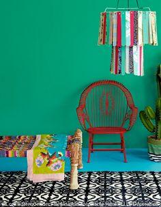 Décoration mexicaine, chambre coloré.