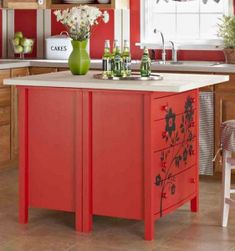super cheap and simple diy kitchen island homesteading repurpose