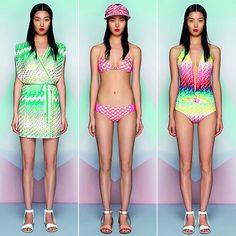 Technicolor geometries for Missoni Beachwear SS 2013 on Shock.style.it
