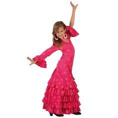 Images : Déguisement de Danseuse Flamenco Rose