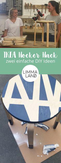 Der IKEA FROSTA ist ein echtes Multitalent! Verwandel deinen langweiligen Hocker in das Highlight deiner Wohnung - und das ganz einfach! Wie wär's mit etwas Farbe oder sogar einer Rückenlehne für den Hocker? Auf unserem Blog findest du zwei ausgefallende Ideen für den ultimativen FROSTA Hack. Jetzt pimpen! www.limmaland.com Ikea Hack Frosta, Hacks, Blog, Creative Ideas, Ikea Stool, Game Room, Simple Diy, Color, Glitch