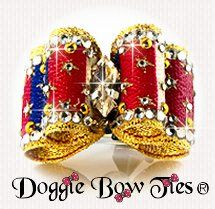 Dog Bow-Full Size, July 4, American Pride, 2016