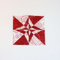 A Little Bit Biased: Red and White Farmer's Wife Update [Paper-Piecing]