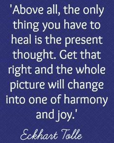 Positive Thoughts, Deep Thoughts, Ekhart Tolle, Note To Self, Spiritual Awakening, Good Advice, Life Lessons, Wise Words, Affirmations