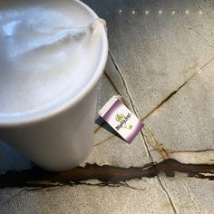 The London Fog, made with steamed milk and Earl Grey tea, is perfect for a grey day like today!