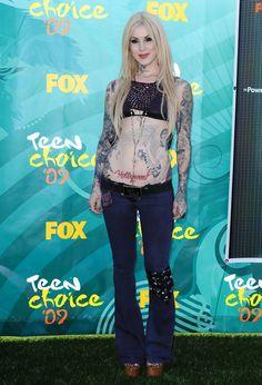 Kat Von D Photos - Teen Choice Awards Amphitheatre, Universal City, CA. Kat Von D, Piercings, Rock Hairstyles, Teen Choice Awards, Beautiful Actresses, Punk, Celebs, Universal City, August 9