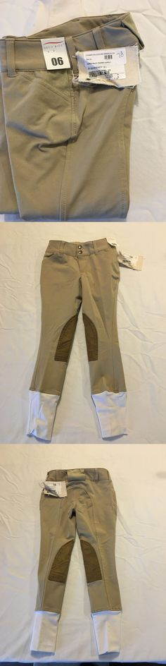 Jodhpurs and Breeches 72599: Equine Couture Safari Coolmax Champion Front Zip Jodhpurs Child Size 6, New -> BUY IT NOW ONLY: $39.95 on eBay!