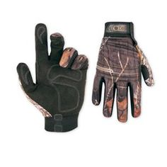 Custom LeatherCraft<br / />Mossy Oak Glove Lg Camo