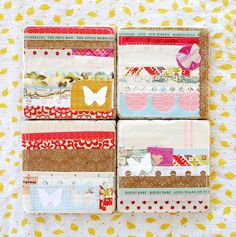 altered art inspiration for matchboxes