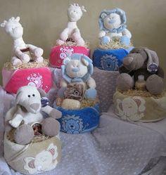 Diaper Cakes / Nappy Cakes