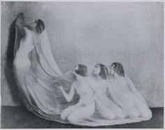 Martha Graham and first dance company, 1920's