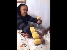 How To Make SpongeBob Cake Pops : part 3  #SpongeBob  #CakePops #cakes #food