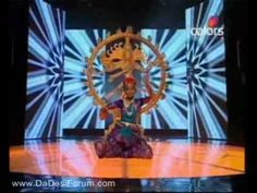 """A nine year old girl performs a dance inspired by the Cosmic Dance of Shiva. This is from the show """"India's Got Talent""""."""