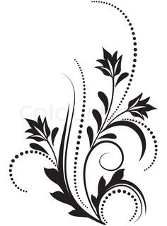 """Buy the royalty-free Stock vector """"Decorative ornament"""" online ✓ All rights included ✓ High resolution vector file for print, web & Social Media Carving Designs, Stencil Designs, Paint Designs, Boarder Designs, Page Borders Design, Hummingbird Tattoo Watercolor, Wedding Card Format, Namaste Art, Rose Drawing Tattoo"""