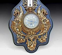 Наполеон III периода часы и Барометр | Галерея трамвай