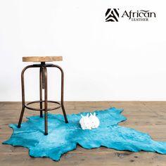 Accesorios decorativos para el hogar African-Leather. Becerro de cuero vacuno en pelo.