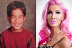 A million dollar makeover turned an outcast into a showstopping Barbie doll. Nikki Exotika, a transgender woman from Hoboken, New Jersey, has wanted to look like her buxom icon since sh… Pink Lipstick Shades, Mtf Transition, Third Gender, Long Ponytails, Female Transformation, Lolita Cosplay, Transgender People, Health Promotion, Gorgeous Women
