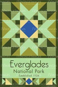 Everglades Quilt Block Design by Susan Davis - 32 Quilt Patterns Free, Star Patterns, Pattern Blocks, Barn Quilt Designs, Quilting Designs, Patch Quilt, Quilt Blocks, Quilted Potholders, Keepsake Quilting