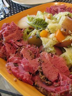 Chopped Corned Beef and Cabbage: Another easy take on the corned beef and cabbage meal, this one makes use of a Dutch oven to braise the meat.