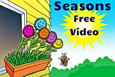 Free video lesson to teach children facts about the four seasons!