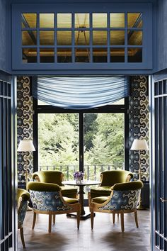 Hotel Château Gütsch in Lucerne, Switzerland | Interiors by Martyn Lawrence Bullard