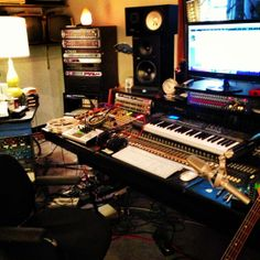 In the studio today finishing up the 'bonus tracks' for the 'deluxe edition'. #marketingtalk #donttryitathome